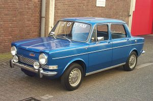 Simca 1000 segunda serie (1968-1977):