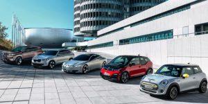 coches electricos de BMW