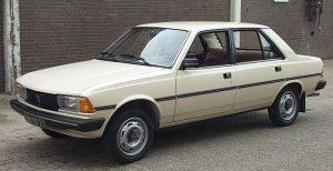 Peugeot 305 1983 GT saloon (1977-1988)