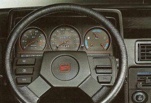 Interior del Seat Ibiza de primera generación